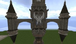 Warcraft 40,000 Inquisition Tower Minecraft Project