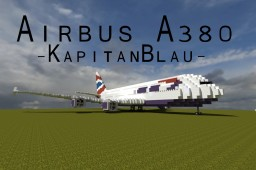 Airbus A380-800 | +Download | World's largest commericial airliner | British Airways Minecraft Map & Project