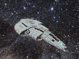 Star Trek: Aurora Class Destroyer Minecraft Map & Project