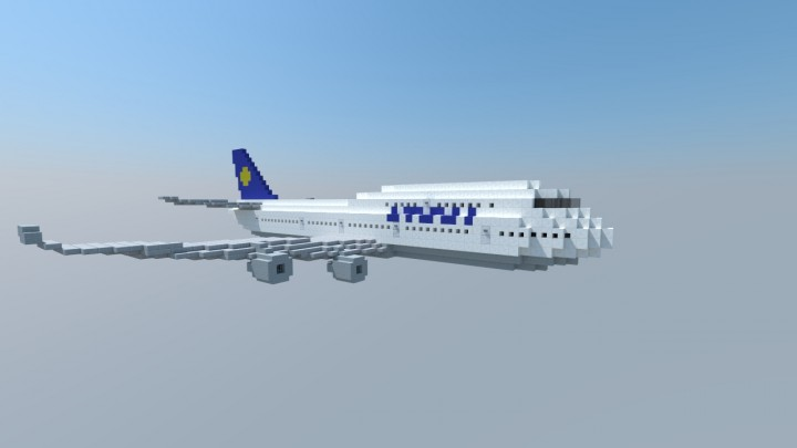 Boeing 747 400 1 1 Minecraft Project