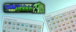 [1.8][Bukkit] CraftHeads: get decorative heads, the easy way [NOW WITH ECONOMY SUPPORT] Minecraft Mod