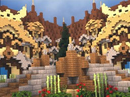 The Golden Gardens [Asperia Factions] Minecraft Project
