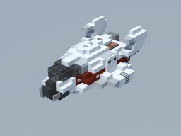 TTC: Griffon Class Light Shuttle Minecraft Project