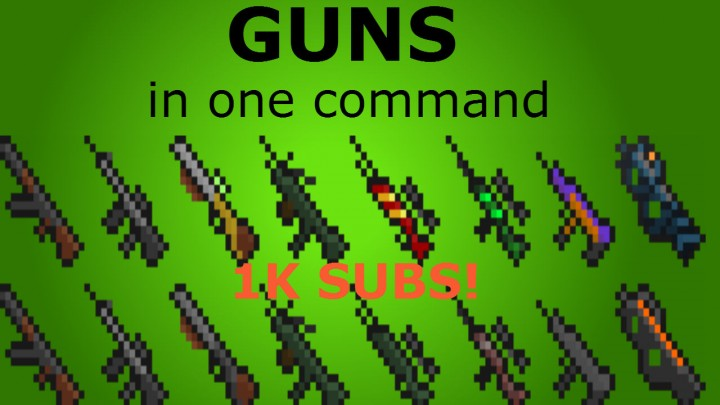 minecraft how to make a gun with command blocks