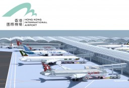 Hong Kong International Airport Minecraft Map & Project