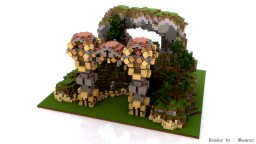 The Gate Into Wilderness Minecraft Project