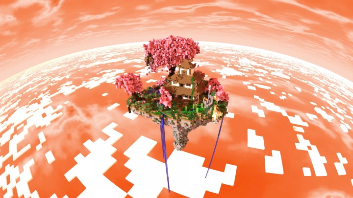 Flying island japanese style minecraft project flying island japanese style gumiabroncs Images