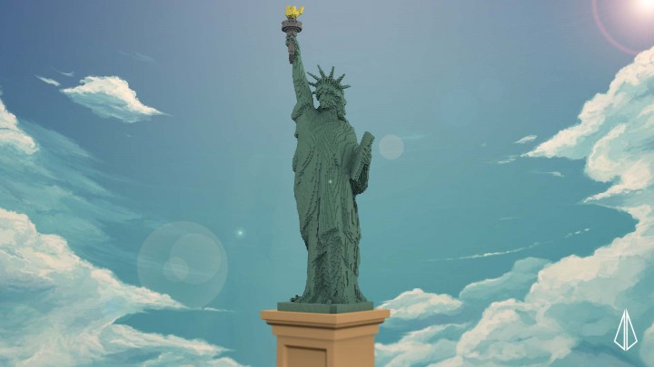 Lady Liberty Minecraft Project