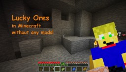 Lucky Ores Minecraft Map & Project