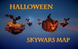 Halloween themed Skywars Map Minecraft Map & Project