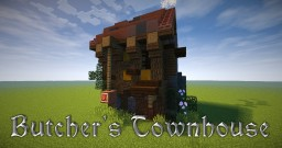 Butcher's Townhouse [MessyMedieval] Minecraft Map & Project