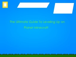 The Ultimate Guide to Leveling Up on PMC Minecraft Blog Post