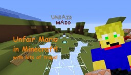 UNFAIR MARIO Minecraft Map & Project