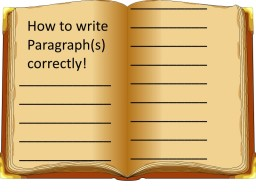 English&Writing: How to format and write paragraphs. Minecraft Blog Post