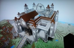 another survival castle Minecraft