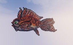 A Fantasy Goldfish Minecraft Map & Project