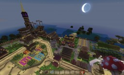 Our World: City: Alexandria (Spawn Town) Minecraft Map & Project