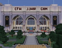 Joejin's City Pack -- Train Station Minecraft Map & Project