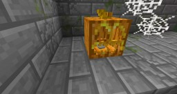 3D Halloween Jack O' Lantern Model / Resource Pack Minecraft Texture Pack
