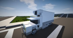 Vehicle - Refrigerated Truck Minecraft Map & Project