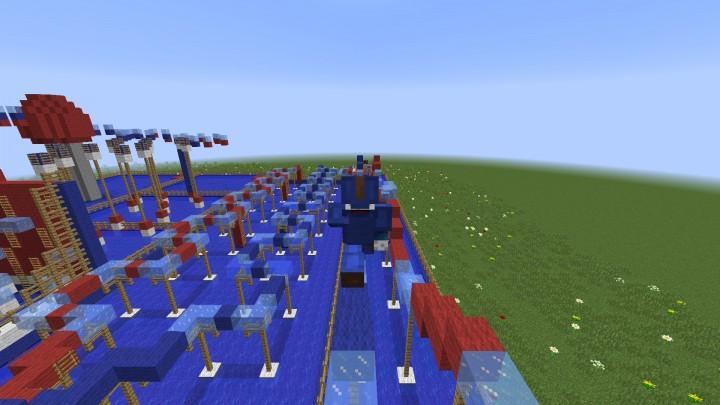 Circuito Wipeout : Circuito wipeout minecraft project