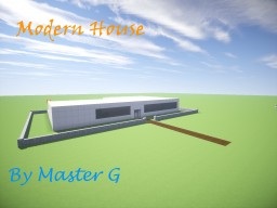 -Modern House- Minecraft Map & Project