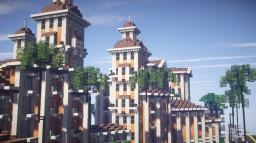 Mediterrenean Apartment Complex Minecraft