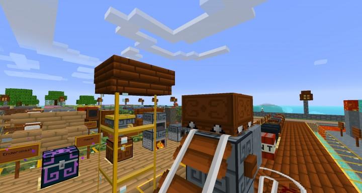 New boat and minecart 1.8 v4
