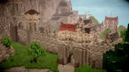 Dalem- A Medieval Port City Minecraft Map & Project