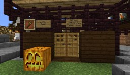 Our World: Feature: Farmers Market Minecraft Map & Project