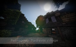 Peltragow - A Medieval Village Minecraft Map & Project