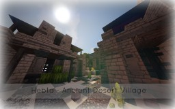 Hebta - A Desert Village Minecraft Map & Project