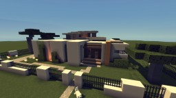 Modern House 001 Minecraft Map & Project
