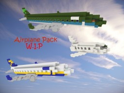 -Plane Pack W.I.P- Minecraft Map & Project