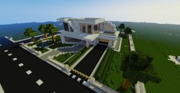 Beautiful Modern Hause Minecraft Map & Project