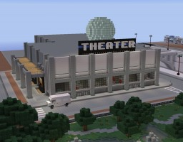Joejin's City Pack -- New Moon Theater Minecraft Map & Project