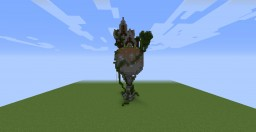 Atlas Holding the World - Minecraft House Minecraft Project