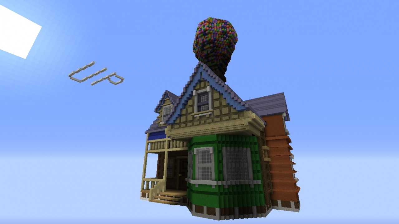 Up House From The Movie Up Minecraft Project
