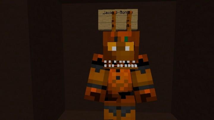 FNAF4 Halloween Edition In Minecraft 1.9 Minecraft Project
