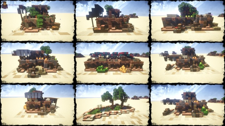 My Third Desert House Bundle [DOWNLOAD] Minecraft Project