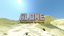 ALONE       Survival Map 1.8 Minecraft Map & Project
