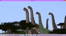 Dinosaur Reserve Minecraft Project