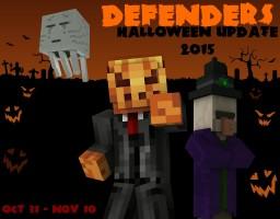 Kingdom Defence Minecraft Minigame ~ Halloween Update Testing Minecraft Map & Project