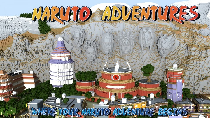 Naruto Adventures Minecraft Map