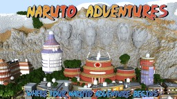 Naruto Adventures Minecraft Map & Project