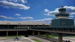 Prague Internatioal Airport  |  LKPR Minecraft Map & Project
