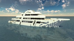 Luxury MegaYacht Minecraft Project