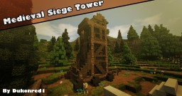 Medieval Siege Tower - #WeAreConquest Minecraft Map & Project