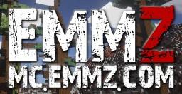 MC.EMMZ.COM - DAYZ ZOMBIE SURVIVAL - PVP  - GUNS - LOOT - BEAUTIFUL MAP - JOIN NOW! Minecraft Server