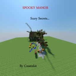 Spooky Manor Minecraft Map & Project